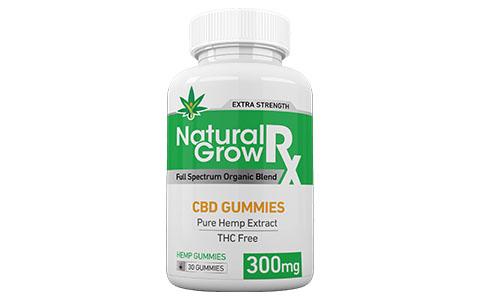 Natural Grow RX CBD Gummies product